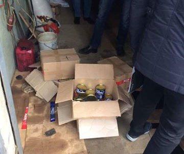 Одесские пограничники попались на краже топлива и продуктов