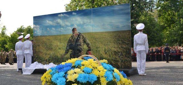 В Днепре открыли уникальную Аллею памяти погибших в АТО и на Майдане