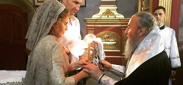 Владимир Кличко и супруга Медведчука стали кумовьями