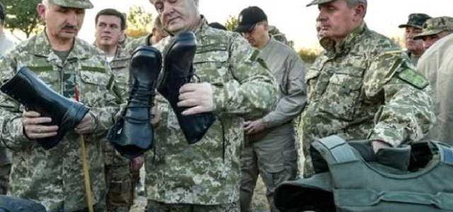 """Нагреть руки на армии: Порошенко """"обул"""" военных на 200 миллионов"""
