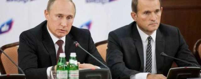 В сети указали на говорящие детали встречи Путина и Медведчука