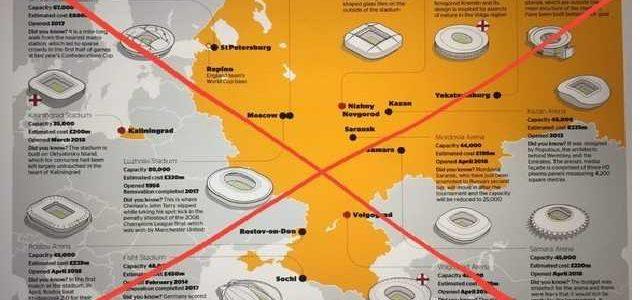 Газета The Times извинилась за карту с российским Крымом