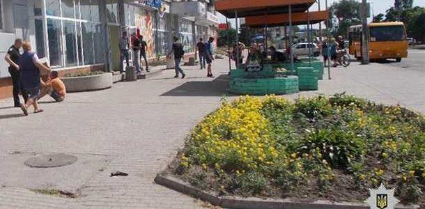 В Павлограде водитель выстрелил в лицо полицейскому