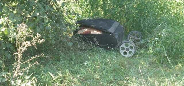 На железной дороге под Киевом нашли чемодан с расчлененным женским телом внутри