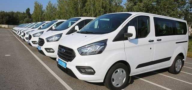 Украинский спецназ получил новые американские автомобили