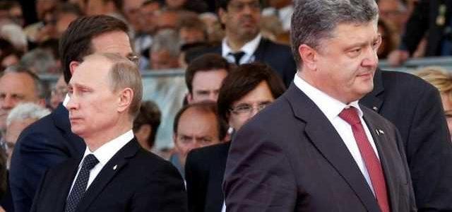 Порошенко назвал «очковтирательством» предложение Путина по миротворцам