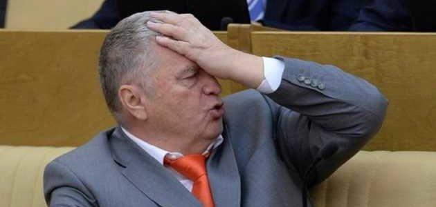 Эпическое видео: Жириновский упал быстрее, чем уставший Шулявский мост