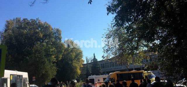 В оккупированной Керчи прогремел взрыв в колледже: много погибших и пострадавших