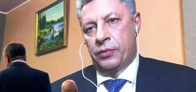 ''Надо, как в Колумбии'': Бойко в эфире с террористами ''решал'' судьбу Донбасса