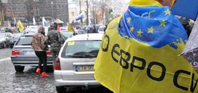 Правительственный квартал Киева оцепили 800 полицейских из-за митингующих евробляхеров