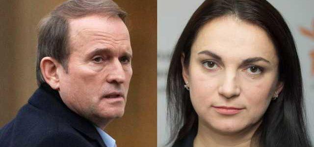 Медведчук через суд вимагає 1 гривню від Гопко за «образу честі й гідності»
