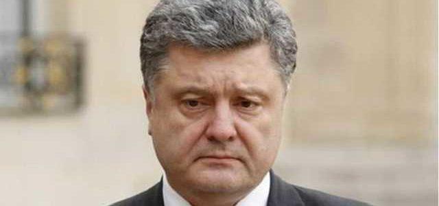 82% украинцев недовольны работой Порошенко