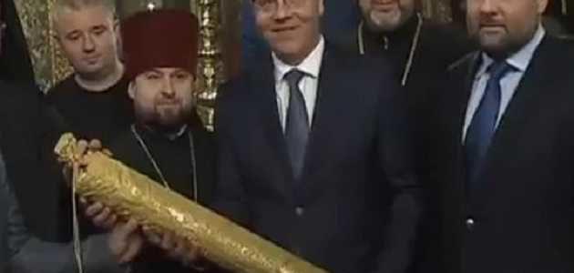 В ПЦУ ответили на присутствие Нарика рядом с Порошенко на Фанаре