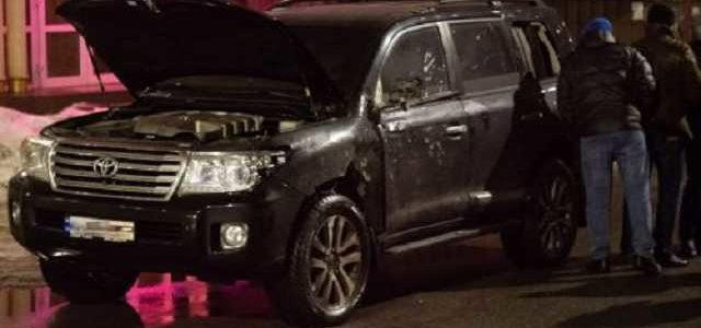 Расстрелянный в Днепре джип принадлежит местному авторитету «Кахе»