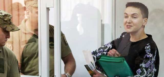 Надія Савченко відсудила зарплату в 450 тисяч