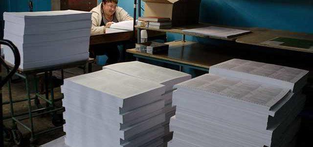 ЦИК напечатает почти в 2 раза больше бюллетеней, чем избирателей в Украине
