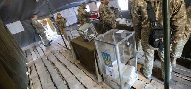 Значительное число военных в зоне ООС поддержало Зеленского