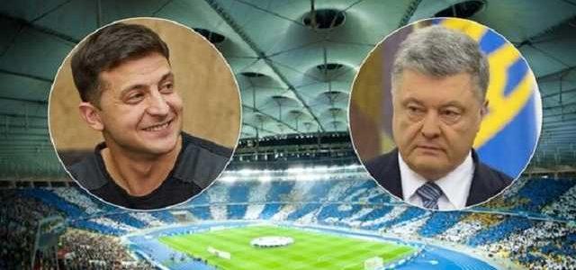 """Дебаты на """"Олимпийском"""": у Порошенко срочно обратились к Зеленскому"""